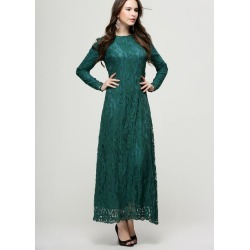 Lace Maxi Long Gowns Party Formal Dress found on MODAPINS from Zilingo AU for USD $30.85