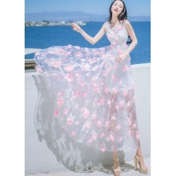 Pink Floral Beach Dresses found on MODAPINS from Zilingo AU for USD $48.67