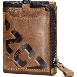 New Leather Wallet Zipper Buckle Wallet found on MODAPINS from Zilingo AU for USD $37.02