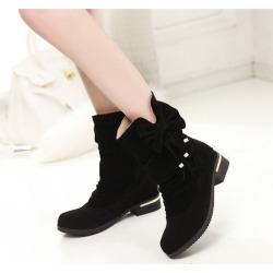 Women Ankle Casual Flat Boots found on MODAPINS from Zilingo AU for USD $28.93