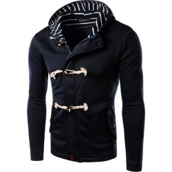 Men's Coat Casual Cotton Blends Cozy All Match Long Sleeve Coat found on MODAPINS from Zilingo AU for USD $55.71