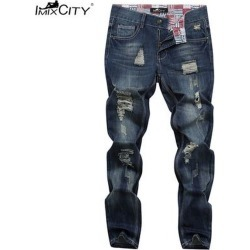 Teen Fashion Casual Style Broken Hole Pants found on MODAPINS from Zilingo AU for USD $22.94