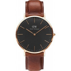 Classic Black St. Mawes 40mm Rose Gold found on Bargain Bro India from Zilingo AU for $281.33