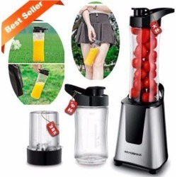 Mini Juicer Electric 300w - Silver Series