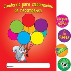 Cuadernos y calcomanA!as de recompensa Spanish Stickers And Reward Books by Really Good Stuff Inc