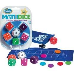 Math Dice Junior by Thinkfun Inc