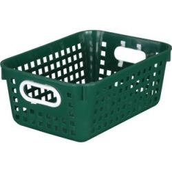 Medium Rectangle Book Basket Single Basket Royal Green by Really Good Stuff Inc