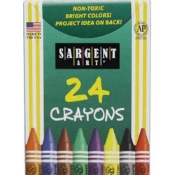 Sargent Art 24 ct Crayons 6 Boxes by SARGENT ART