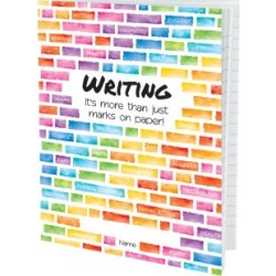 Softcover Rainbow Building Blocks Journals 12 Pack by Really Good Stuff Inc