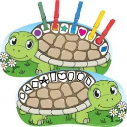 Clip A Shape Turtles Kit by Really Good Stuff Inc