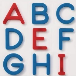 EZread Plastic Magnetic Letters Set   Uppercase by Really Good Stuff Inc