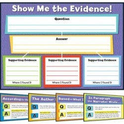 Evidence Based Reading And Writing Bulletin Board Set by Carson Dellosa Publishing Company, Inc.