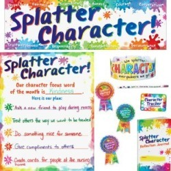 Splatter Character Kit by Really Good Stuff Inc