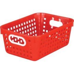 Medium Rectangle Book Basket Single Basket Red by Really Good Stuff Inc