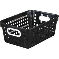 Medium Rectangle Book Basket Single Basket Black by Really Good Stuff Inc