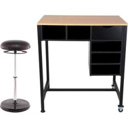 Standing Workstation With Teacher Kore Chair by Really Good Stuff Inc