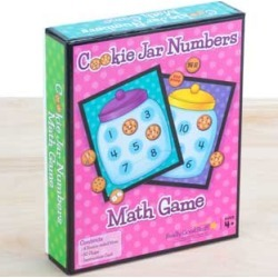 Cookie Jar Numbers Math Game by Really Good Stuff Inc