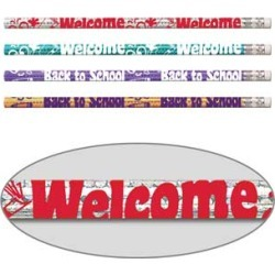 Welcome Back To School Pencils by Musgrave