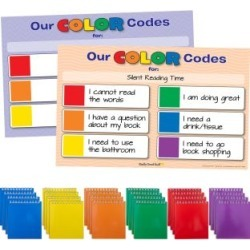 Privacy Shield Color Code Flippers And Poster Kit by Really Good Stuff Inc