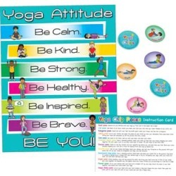 Yoga And Mindfulness Kit by Really Good Stuff Inc