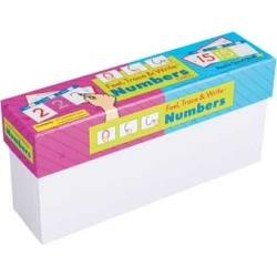 Feel, Trace and Write Numbers Cards by Really Good Stuff Inc