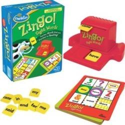 Zingo Sight Words Game by Thinkfun Inc