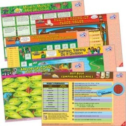Skill Stretchers With Decoders Grade 4 Math Set 1 by Really Good Stuff Inc