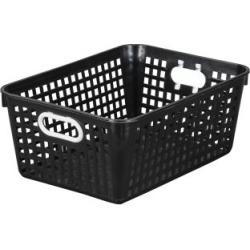 Large Rectangle Book Basket Single Basket Black by Really Good Stuff Inc