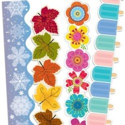 Seasonal Border Trim Bundle 4 Pack by RGS KIT