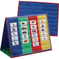 Desktop Pocket Charts And Stand by Really Good Stuff Inc