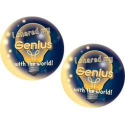 Genius Hour Stickers by Really Good Stuff Inc