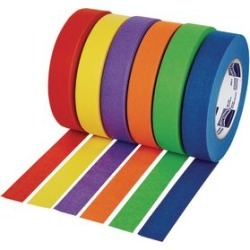 Colorations 1 Colored Masking Tape Set of 6 by Colorations