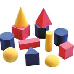 Easy Shapes 3 D Geometric Shapes by Didax Educational Resources