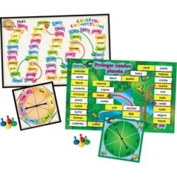 Prefix And Suffix Spin Board Games Dual Language Kit by Really Good Stuff Inc