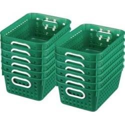Book Baskets Medium Rectangle Green by Really Good Stuff Inc