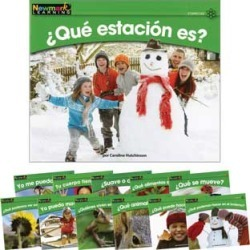 Rising Readers Spanish Science Book Set Vol 1 by NEWMARK LEARNING