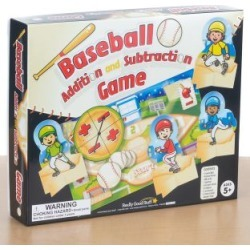 Baseball Addition And Subtraction Game by Really Good Stuff Inc