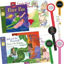 Bilingual English Spanish Fairy Tale Storybook Collection Guided Reading Activit by Really Good Stuff Inc found on Bargain Bro Philippines from really good stuff for $49.99