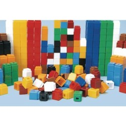 Unifix Cubes Set Of 1,000 by Didax Educational Resources
