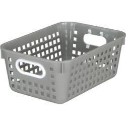 Medium Rectangle Book Basket Single Basket Pebble by Really Good Stuff Inc