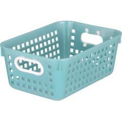 Medium Rectangle Book Basket Single Basket Water by Really Good Stuff Inc