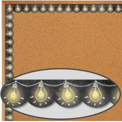 Chalk It Up Lightbulbs Border Trim by Creative Teaching Press
