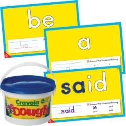 Fry Sight Words Dough Kit by Really Good Stuff Inc