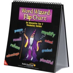 Word Wizard Flip Chart by Really Good Stuff Inc