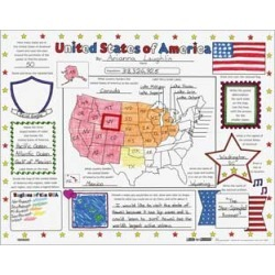 Ready To Decorate United States Of America Posters by Really Good Stuff Inc