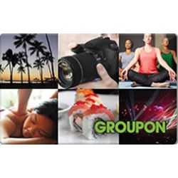 $25.0 Groupon Gift Card at 0.0% off
