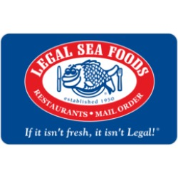$50.0 Legal Sea Foods & Legal C Bar Gift Card at 3.5% off found on Bargain Bro Philippines from Raise.com for $48.25