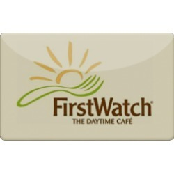 $50.0 FirstWatch Gift Card at 0.0% off found on Bargain Bro India from Raise.com for $50.00