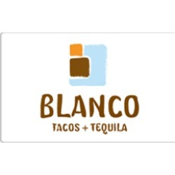 $50.0 Blanco Tacos & Tequila Gift Card at 0.0% off found on Bargain Bro Philippines from Raise.com for $50.00