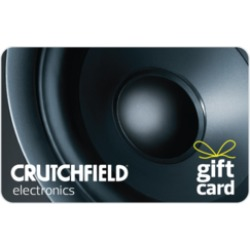 $100.0 Crutchfield Gift Card at 2.0% off found on Bargain Bro India from Raise.com for $98.00